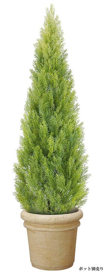 【クリスマス・ヌードツリー・装飾・観葉】150cmクレストツリー・ライトグリーン(プラスチック)