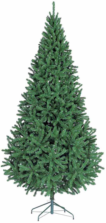 【クリスマス・ヌードツリー・装飾】300cmスリムツリー(幹と枝が傘の様な部品で接続されておりパタパタ広げるタイプ)