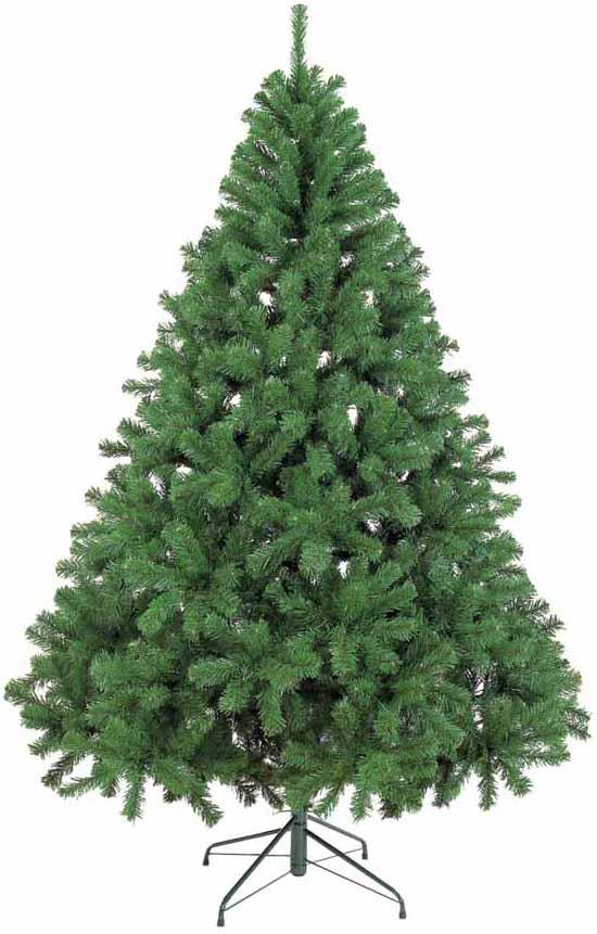 【クリスマス・ヌードツリー・装飾】210cmパインツリー(幹と枝が傘の様な部品で接続されておりパタパタ広げるタイプ)