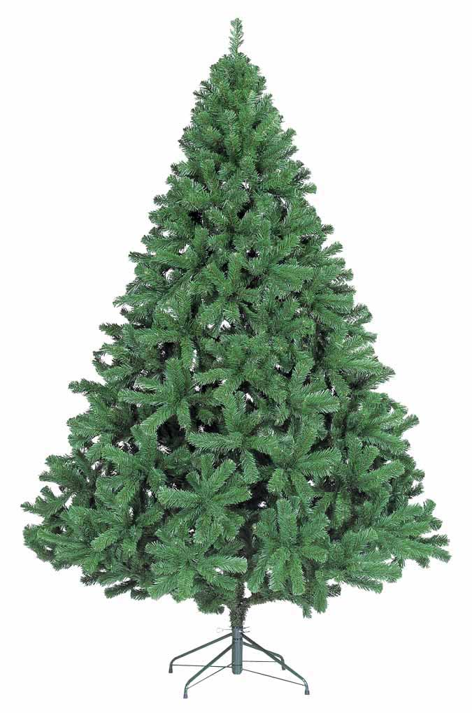 【クリスマス・ヌードツリー・装飾】240cmパインツリー(幹と枝が傘の様な部品で接続されておりパタパタ広げるタイプ)