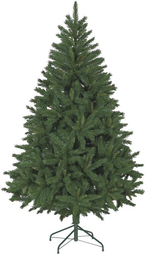 【クリスマス・ヌードツリー・装飾】210cmミックスパインツリー(枝が幹に巻きつけられており、手で直接広げるタイプ)