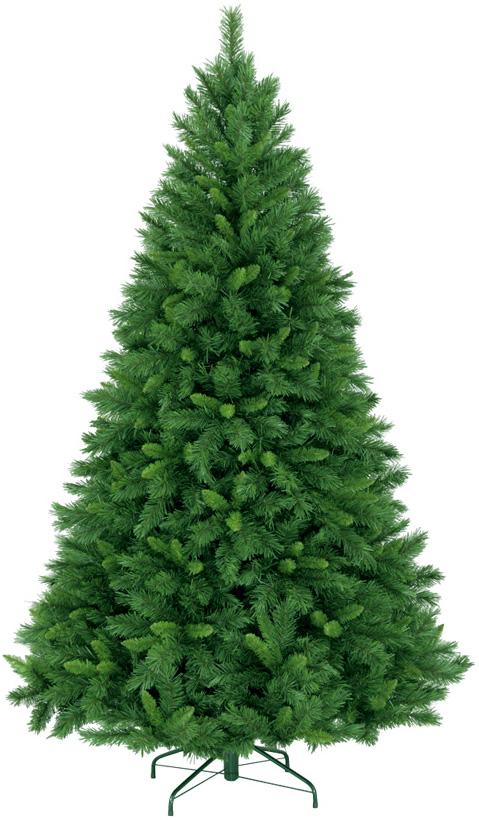 【クリスマス・ヌードツリー・装飾】210cmミネソタツリー(幹と枝が傘の様な部品で接続されておりパタパタ広げるタイプ)