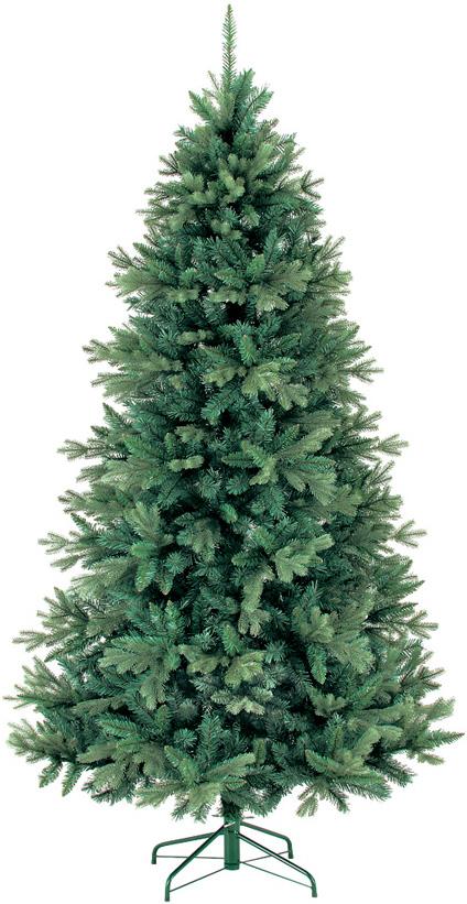 【クリスマス・ヌードツリー・装飾】210cmアイスランドツリー(幹と枝が傘の様な部品で接続されておりパタパタ広げるタイプ)
