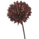 造花 マム セール価格 チョコレート ポンポンマム 送料無料