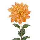 造花 夏の造花 オレンジ 4年保証 ダリア バースデー 記念日 ギフト 贈物 お勧め 通販
