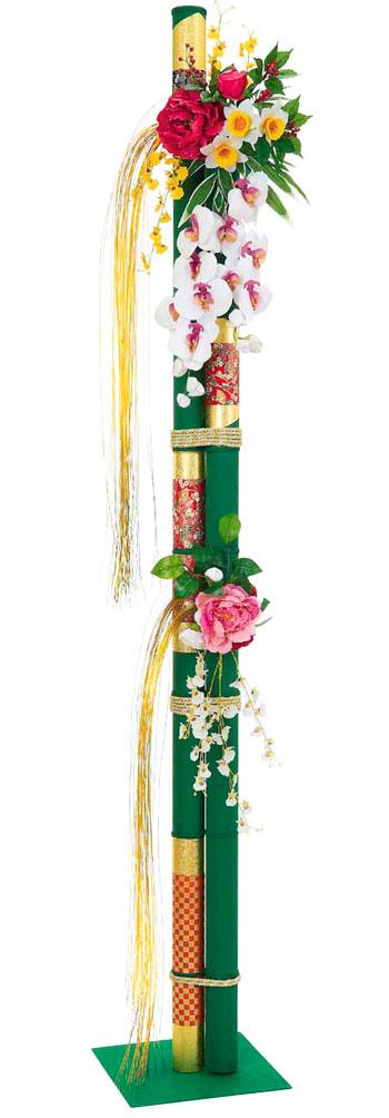 【お正月・装飾用・門松】正月若竹千代紙スタンド