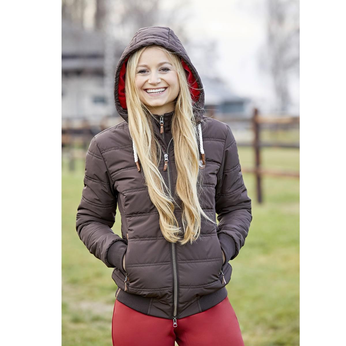乗馬 ジャケット ベスト コート アウター 乗馬用ウエア Covalliero カーラ ウインター ジャケット レディース 乗馬用品 馬具