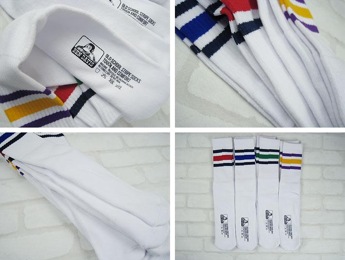 BEN DAVIS Ben Davis SKATER TUBE CREW skater tube socks quadruped pair 188-0007 (set of mens / socks / crew Sox / 3 legs)