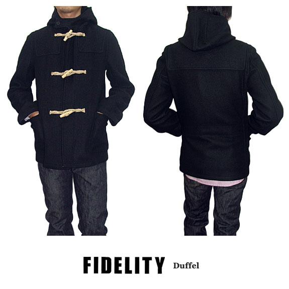 フィデリティ FIDELITY DUFFEL COAT MADE IN USA ダッフルコート 米国製 24019R