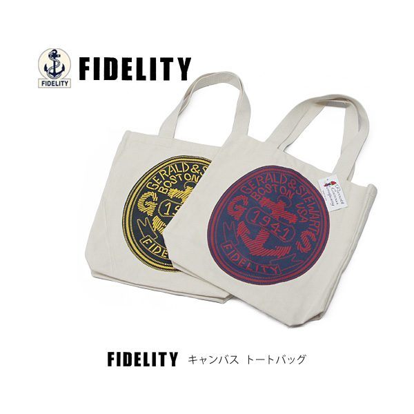 Fidelity Parrott Canvas Campany Company Tote Bag Logo Toto F13 04 Accessories Bags