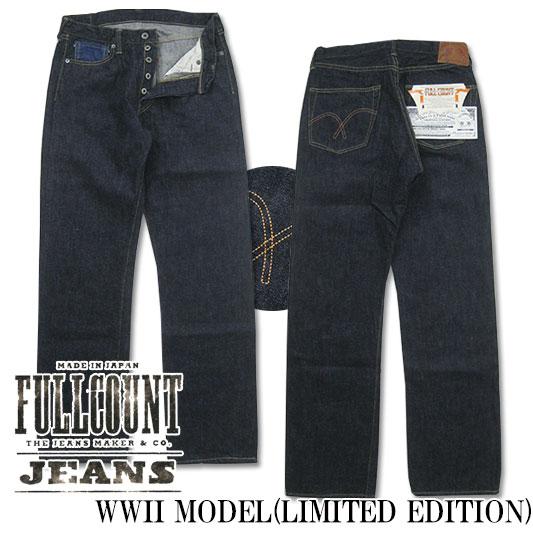 FULLCOUNT フルカウント 大戦モデル ジーンズ 0105ベース 25th アニバーサリーモデル 1100EX-17