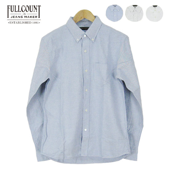 FULLCOUNT フルカウント オックスフォード ボタンダウン シャツ OXFORD B.D SHIRTS FC-4892