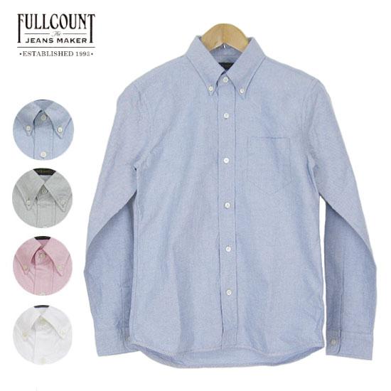 FULLCOUNT フルカウント オックスフォード ボタンダウン シャツ OXFORD B.D SHIRTS 4967