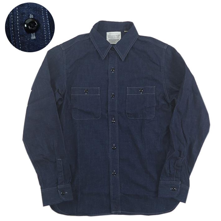 FULLCOUNT フルカウント デニムワークシャツ DENIM WORK SHIRTS 4890
