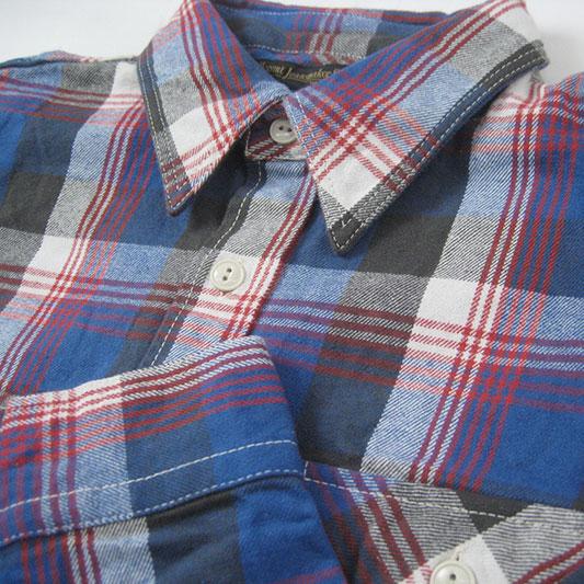 FULLCOUNT フルカウント ギャバジンチェック ネルシャツ 25周年モデル 4980EX-2