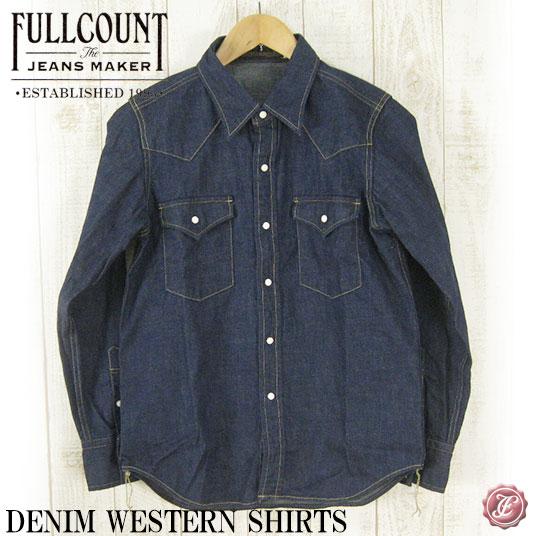FULLCOUNT フルカウント デニムウエスタンシャツ DENIM WESTERN SHIRTS FC-4894