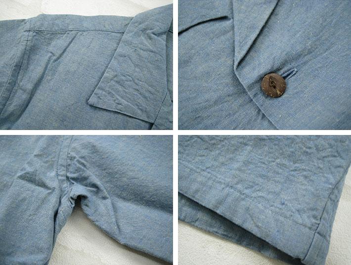 """FULLCOUNT 最大计数,夏威夷衬衫开领棉夏威夷衬衫 FC 4942""""男子上衣 / 短袖子 / 衬衫 / / 固体。"""