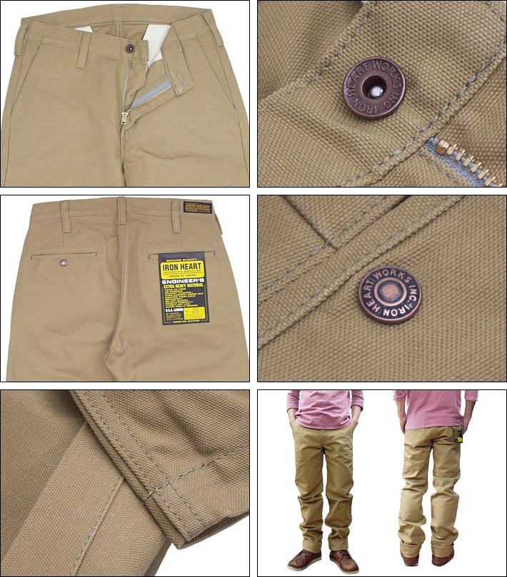 铁心铁了心 No.816 重型鸭工作裤重 DAC 工作裤 (男子,底部,工作裤/裤子/关闭)