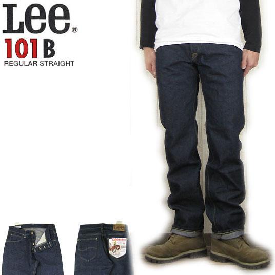Lee 101B ボタンフライ ストレート リンス  ジーンズ リーライダース BUTTON-FLY 101-B LM5010-500