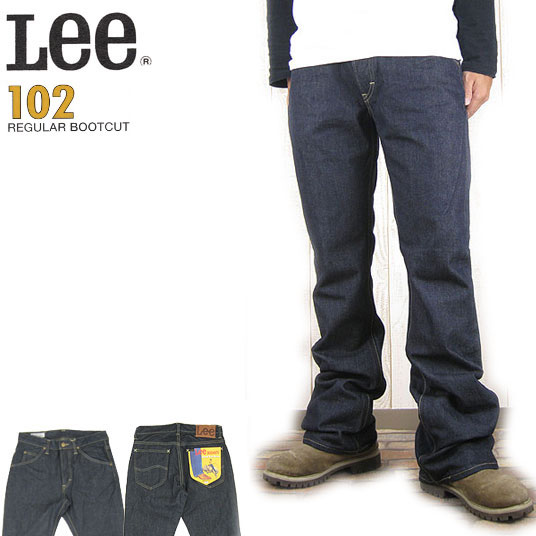 Lee 102 ブーツカット リンス  ジーンズ リーライダースLM5102-500