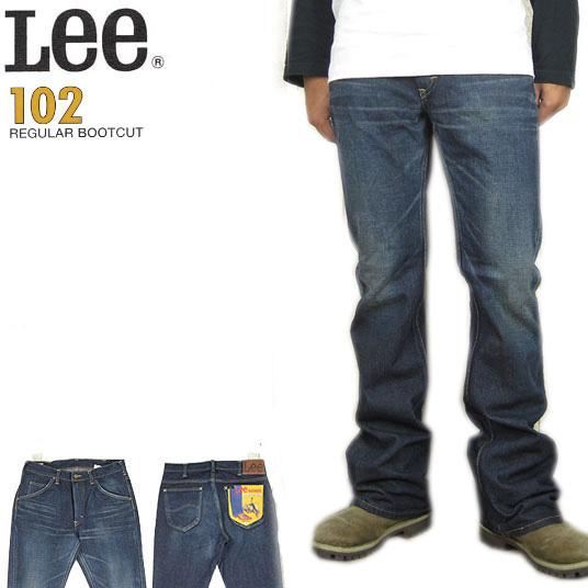 Lee 102 ブーツカット  ジーンズ リーライダース LM5102-526