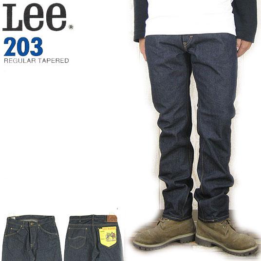 Lee 203 レギュラーテーパード リンス  ジーンズ リーライダース LM5203-500