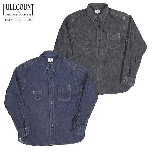 FULLCOUNT フルカウント 4835 クラシック デニム ワークシャツ CLASSIC DENIM WORK SHIRTS