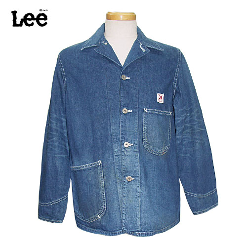 VINTAGE LOCO WW2 ARCHIVES MODEL JACKET RIDERS COVERALL 02442-146 THE 大戦モデル ロコジャケット ユーズド Lee