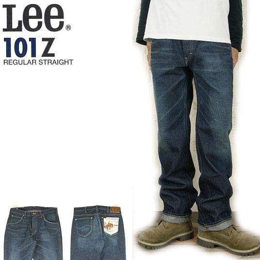 リー ライダース Lee AMERICAN RIDERS 101-Z ストレート ジーンズ ZIPPER-FLY ユーズドカラー LM5101-526