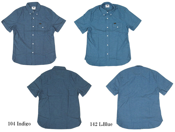 20f68c3cb3 Casualshop JOE  Lee Lee short sleeve chambray button down shirt ...