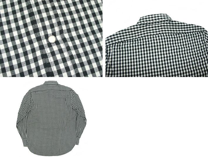李维的老式服装/1950年发行的模型日本短角件西式衬衫黑格子全球线 27093 9503 (男装 / 上衣和长袖衬衫和检查模式、 复古、 休闲、 休闲 /Levis)