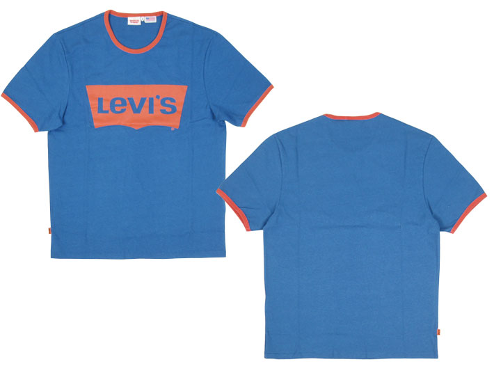 Levi's / Levi's 1970 s batwing T shirts LEVI's VINTAGE CLOTHING 32197-0006 (men / tops / short sleeve/t shirt / crew neck / logo print / casual / casual)