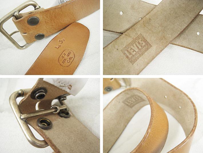 Levi's vintage leather belt RAW BELT made in Italy LEVI's VINTAGE CLOTHING 03260-0001 (men / belts / leather and buckle removable)