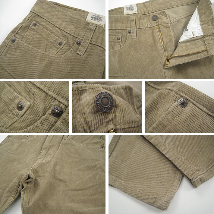 44bd10bdaa22a5 Casualshop JOE: Levi's Levis 502 corduroy regular tapered 29507 ...