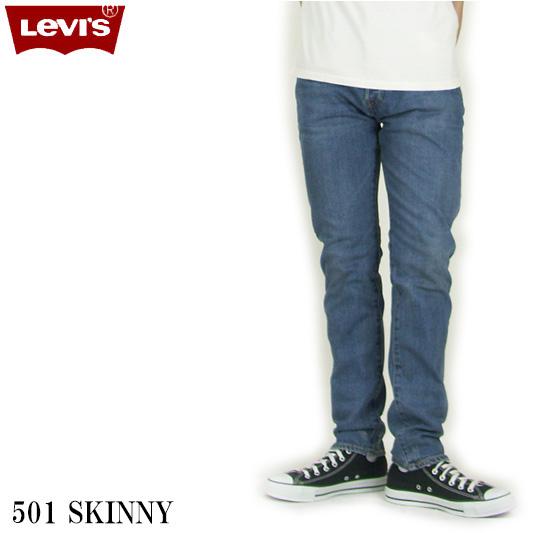 Levi's リーバイス 501 スキニー THIRSTY ボタンフライ 34268-0024