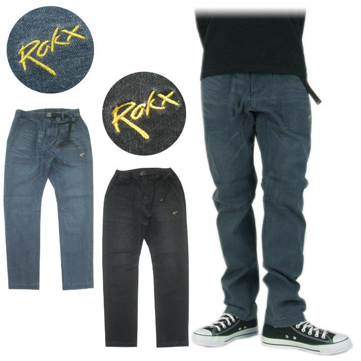 ROKX ロックス デニム ストレッチクライミングパンツ DENIM FATIGUE PANT RXMF8216