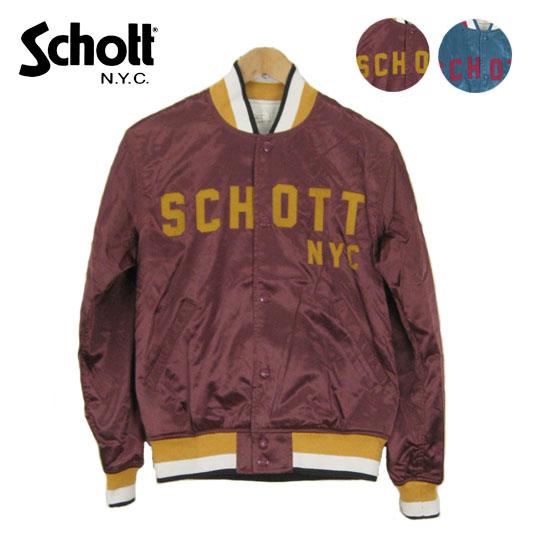 Schott ショット ナイロンヴァーシティージャケット NYLON VARSITY JACKET 3152002