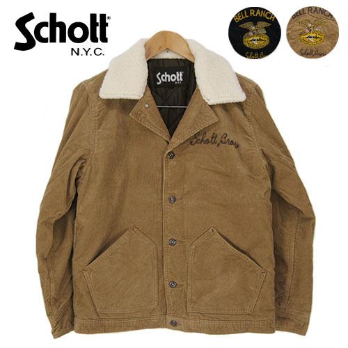 Schott ショット ランチコート CORDUROY WORK JKT BELL RANCH 3162026