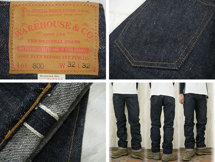 """仓仓 Lot.800 缩短可以缝鼻子洗 / 硬质牛仔裤""""的男人 / 牛仔裤 / 直 / momotarō / 未读洗 / 原料的牛仔。"""