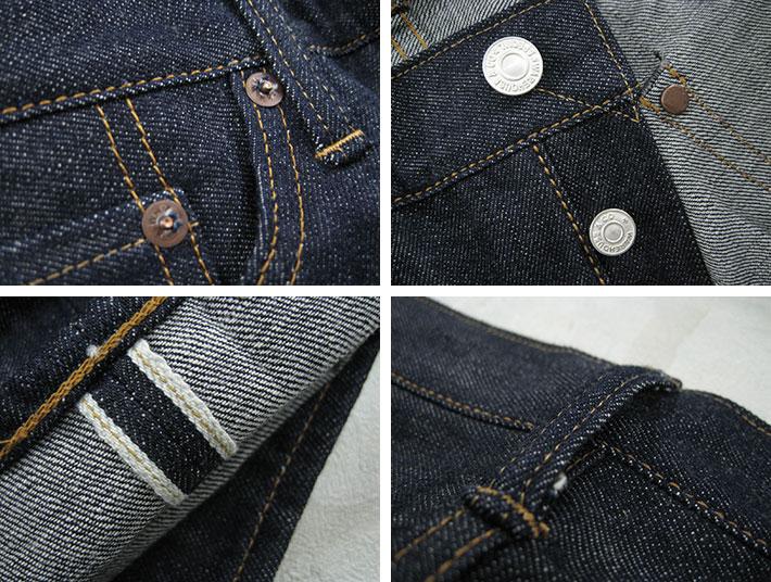 """仓仓 Lot.900 缩短可以缝鼻子洗 / 硬质牛仔裤""""男人/牛仔裤/苗条/momotarō / 洗 / 原料牛仔布。"""