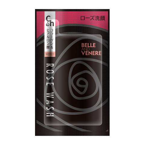 コラーゲン&ヒアルロン酸W配合!◆送料込み!◆ベル&ヴェーネレ ローズ洗顔 [500個]<ブルガリアンローズの香り>