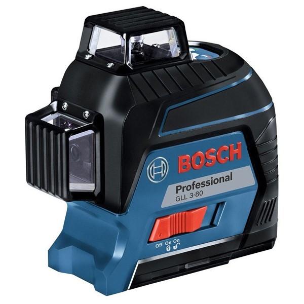 【送料無料】BOSCH・ボッシュ レーザー墨出し器 GLL3-80