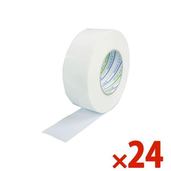 【送料無料】DIATEX/ダイヤテックス 結束用パイオランタフ 50mm×50m ホワイト まとめ買い24巻 TP-18-W