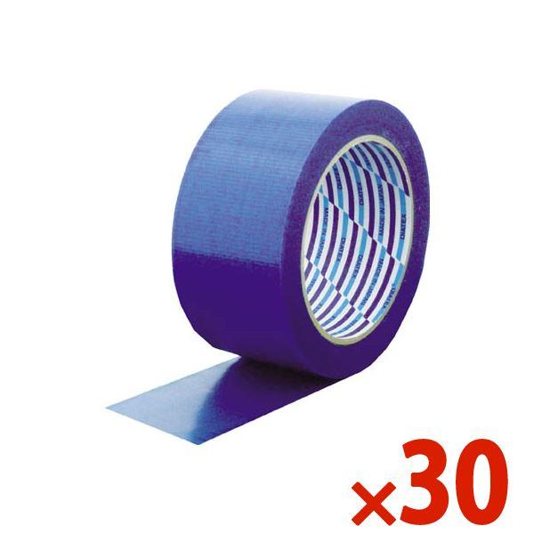 【送料無料】DIATEX/ダイヤテックス パイオラン梱包用テープ 50mm×25m ブルー まとめ買い30巻 K-10-BL