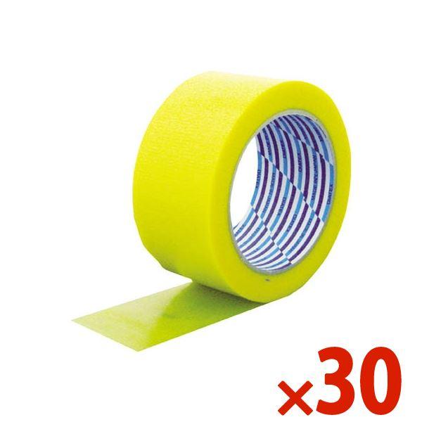 【送料無料】DIATEX/ダイヤテックス パイオラン梱包用テープ 50mm×25m イエロー まとめ買い30巻 K-10-YE