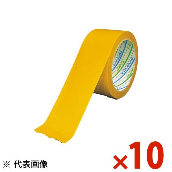 【送料無料】DIATEX/ダイヤテックス パイオラン再帰反射テープ 50mm×10m 黄 まとめ買い10巻 RF-30-YE
