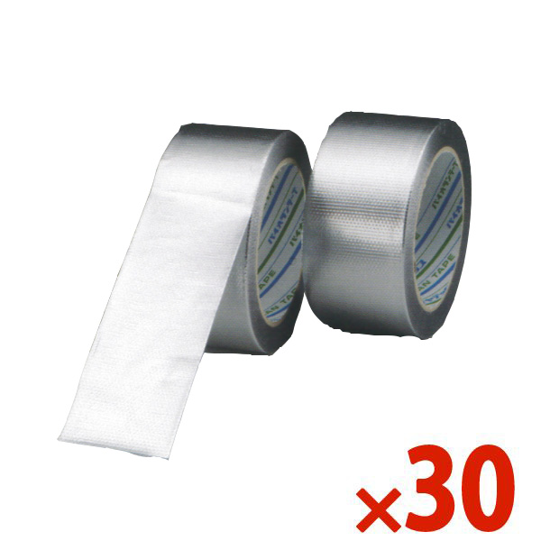 【送料無料】DIATEX/ダイヤテックス パイオランアルミクロステープ 50mm×25m シルバー まとめ買い30巻 K-10-AL