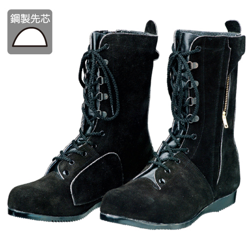 DONKEL/ドンケル 高所・構内用安全靴T-7 ベロアチャック式 24.5 EEE