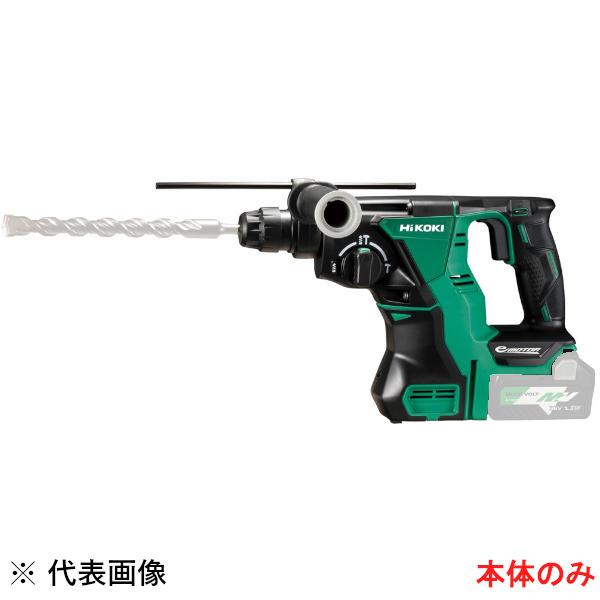 【送料無料】HiKOKI・日立工機 コードレスロータリハンマドリル 18V 本体のみ DH18DBL(NN)