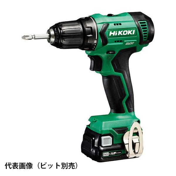 【送料無料】HiKOKI・日立工機 10.8Vコードレスドライバドリル 1.5Ah(BSL1215)×2個 DS12DA (2ES)